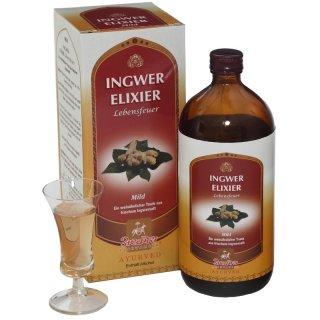 Ingwer Elixier mild 450ml