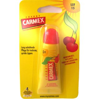 CARMEX Lippenbalsam Cherry mit LSF 15 - 10 g Tube
