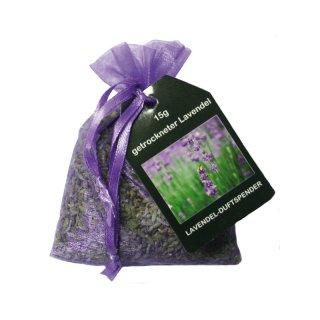 Lavendelsäckchen cellophaniert 15g