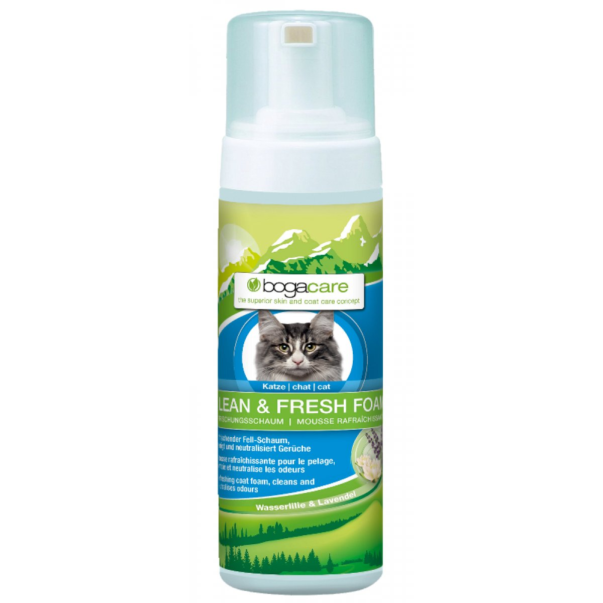 bogacare Clean & Fresh Foam Katze 150 ml