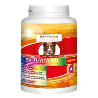 bogavital Multi Vitamin Support Hund 180 g /  120 Tabs
