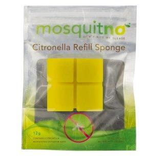MosquitNo Citronella 4er Nachfüllung zu Repellent Blumen-Topf