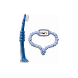 CKC 42 bl Kombipack blau (Beißring blau Zahnbürste CK 4260)