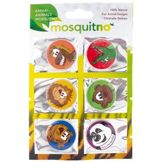 HV-Display mit MosquitNo SpotZzz Sticker Safari - 50 Blatt a 6 Sticker