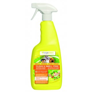 bogaclean CLEAN & SMELL FREE - SMALL ANIMAL CAGE & HUTCH SPRAY