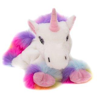 Habibi Einhorn Rainbow white Waermetier
