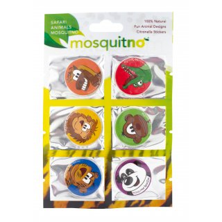 MosquitNo SpotZzz Safari Sticker - 6 Stück