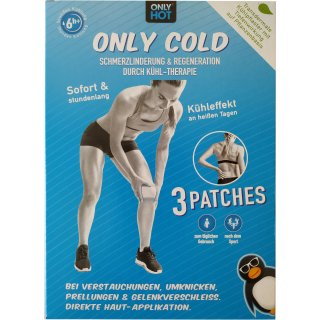 Only Cold Setbox - 3 Cooling Patches