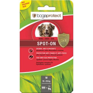 bogaprotect® SPOT-ON Hund M 3x2.2 ml