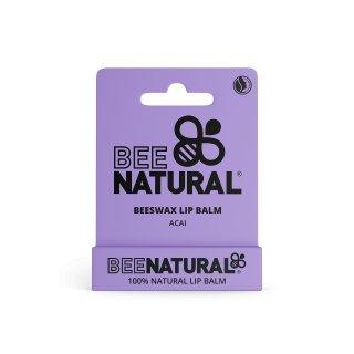 BEE NATURAL Lip Balm Acai Berry - Acai Beere